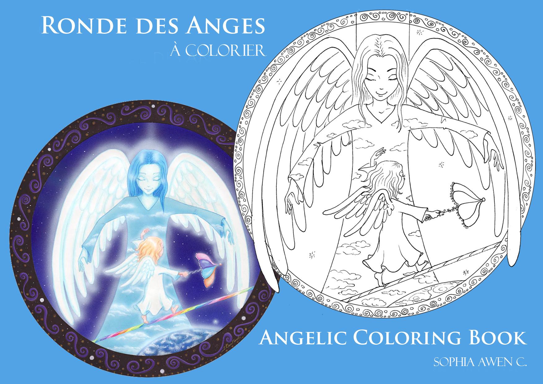 Les Coloriages de la Ronde des Anges
