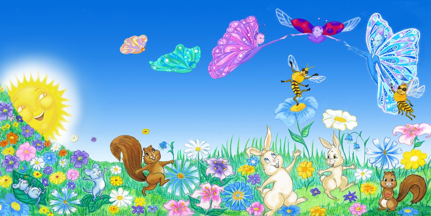 Lili et le Papillon Bleu